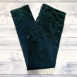 Kut from the Kloth Dark Green Diana Skinny Pants